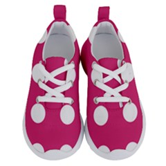 Pink Dot Running Shoes by snowwhitegirl