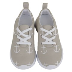 Lt Grey Anchors Running Shoes