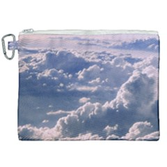 In The Clouds Canvas Cosmetic Bag (xxl) by snowwhitegirl
