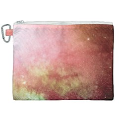 Galaxy Red Canvas Cosmetic Bag (xxl) by snowwhitegirl