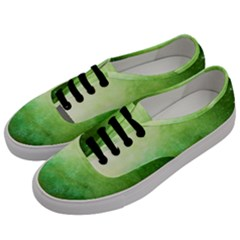 Galaxy Green Men s Classic Low Top Sneakers by snowwhitegirl