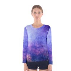Galaxy Women s Long Sleeve Tee