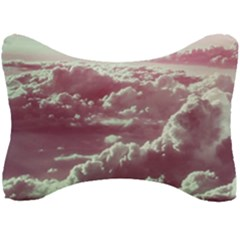 In The Clouds Pink Seat Head Rest Cushion by snowwhitegirl