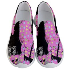 Weird Smile Men s Lightweight Slip Ons by snowwhitegirl