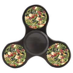 Fruit Blossom Black Finger Spinner by snowwhitegirl