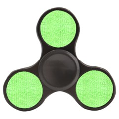 Knitted Wool Neon Green Finger Spinner by snowwhitegirl