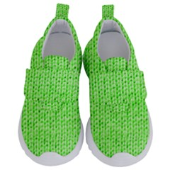 Knitted Wool Neon Green Velcro Strap Shoes by snowwhitegirl
