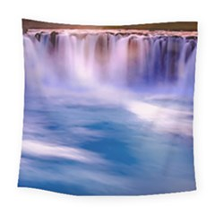 Waterfall Square Tapestry (large) by snowwhitegirl