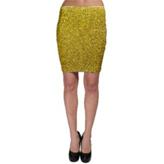 Gold  Glitter Bodycon Skirt