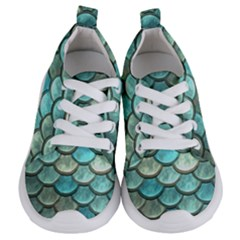 Aqua Mermaid Scale Kids  Lightweight Sports Shoes