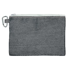 Black Denim Canvas Cosmetic Bag (xl) by snowwhitegirl