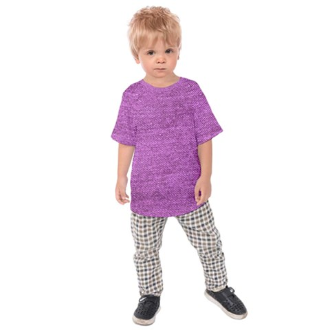 Purple Denim Kids Raglan Tee by snowwhitegirl