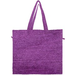 Purple Denim Canvas Travel Bag by snowwhitegirl