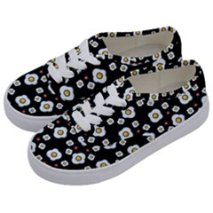 Eggs Black Kids  Classic Low Top Sneakers by snowwhitegirl