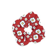 Eggs Red Velvet Scrunchie