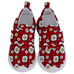 Eggs Red Velcro Strap Shoes