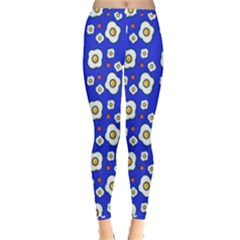 Eggs Blue Inside Out Leggings