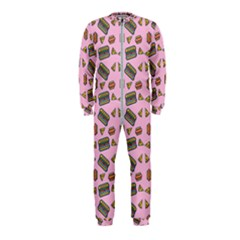 Fast Food Pink Onepiece Jumpsuit (kids)