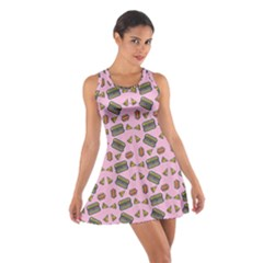 Fast Food Pink Cotton Racerback Dress