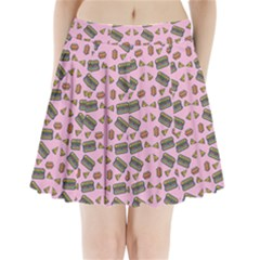 Fast Food Pink Pleated Mini Skirt