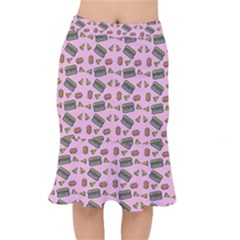 Fast Food Pink Mermaid Skirt