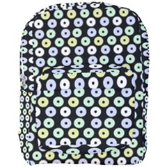 Eye Dots Black Pastel Full Print Backpack by snowwhitegirl