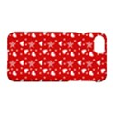 Hearts And Star Dot Red Apple iPhone 7 Hardshell Case View1