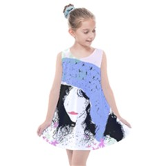 Girl With Hat Kids  Summer Dress