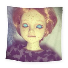 Freckley Boy Square Tapestry (large) by snowwhitegirl