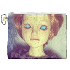 Freckley Boy Canvas Cosmetic Bag (xxl) by snowwhitegirl