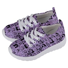 Lilac Yearbok Kids  Lightweight Sports Shoes by snowwhitegirl