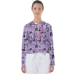 Lilac Yearbok Women s Slouchy Sweat