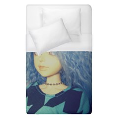 Blue Hair Boy Duvet Cover (single Size) by snowwhitegirl