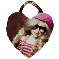 Cover Girl Giant Heart Shaped Tote