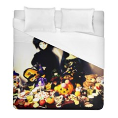 Old Halloween Photo Duvet Cover (full/ Double Size) by snowwhitegirl