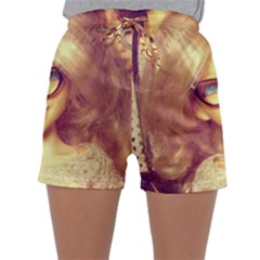 Girls With Glasses Sleepwear Shorts by snowwhitegirl