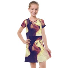 Couple Kids  Cross Web Dress