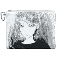 Girl Canvas Cosmetic Bag (xxl) by snowwhitegirl