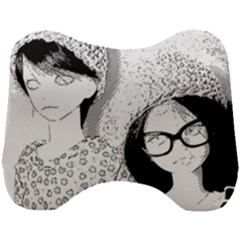 Twins Head Support Cushion