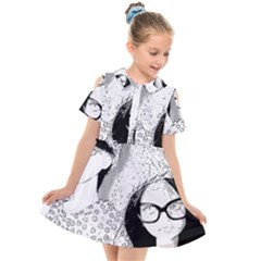 Twins Kids  Short Sleeve Shirt Dress