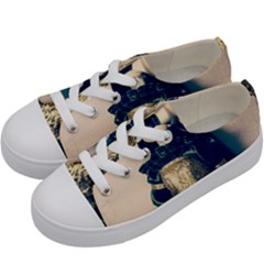 Forest Queen Kids  Low Top Canvas Sneakers by snowwhitegirl