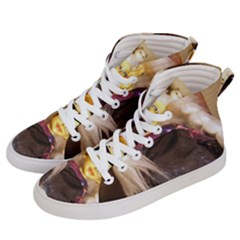 Eating Lunch Women s Hi Top Skate Sneakers by snowwhitegirl
