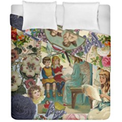 Angel Collage Duvet Cover Double Side (california King Size) by snowwhitegirl