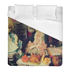 Happy Holidays Duvet Cover (full/ Double Size) by snowwhitegirl