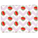 Watermelon Chevron Samsung Galaxy Tab 7  P1000 Flip Case View1