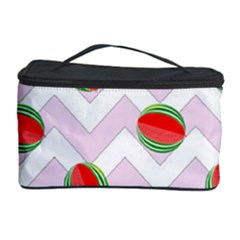 Watermelon Chevron Cosmetic Storage