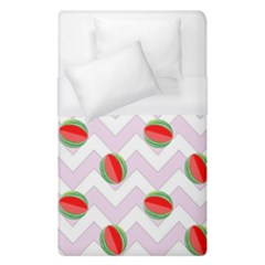 Watermelon Chevron Duvet Cover (Single Size)