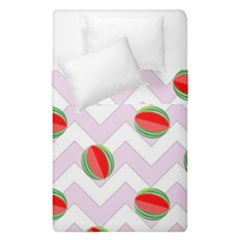 Watermelon Chevron Duvet Cover Double Side (Single Size)