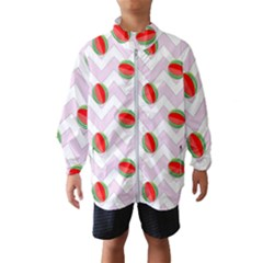 Watermelon Chevron Windbreaker (Kids)