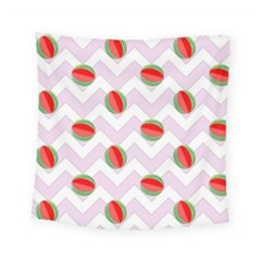 Watermelon Chevron Square Tapestry (Small)